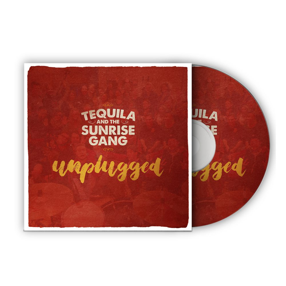 """Tequila & the Sunrise Gang - """"Unplugged"""" CD Cover"""